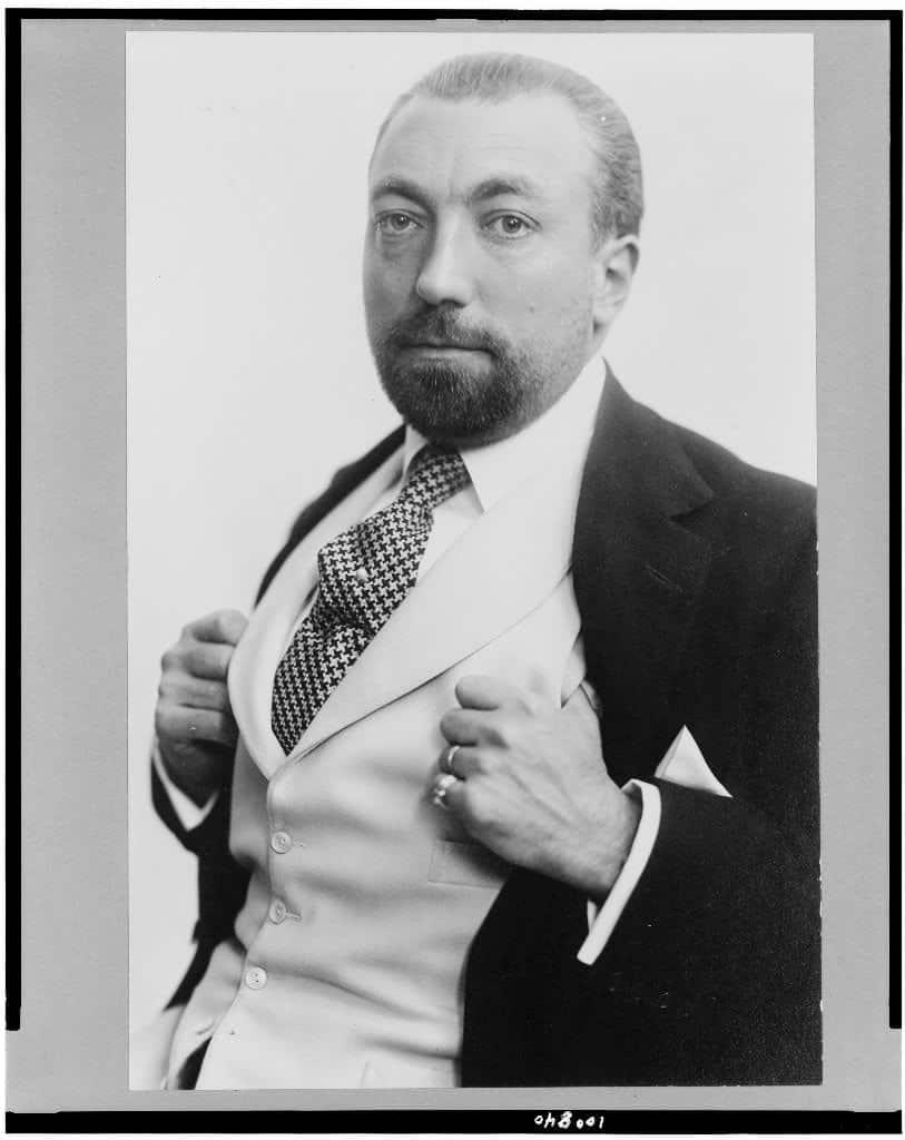 Portrait of Paul Poiret