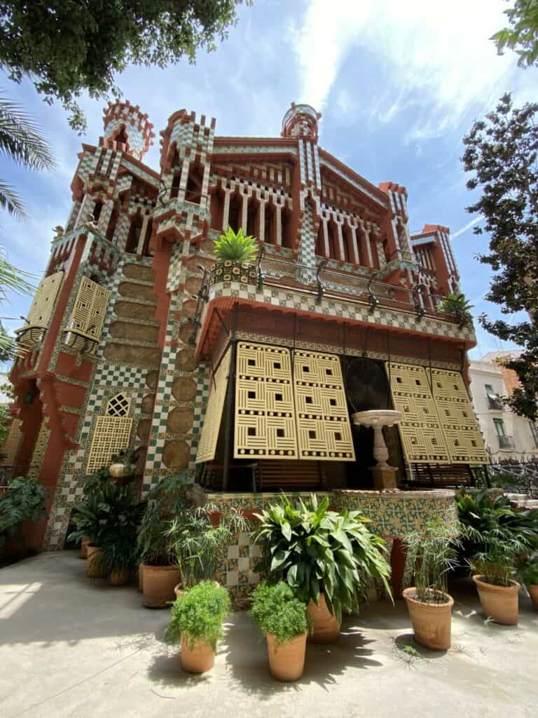 Casa Vicens, designed by Antoni Gaudí