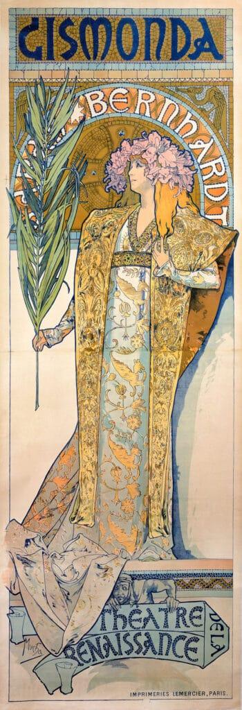 Alphonse Mucha, Gismonda