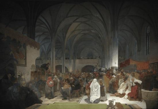 Alphonse Mucha, The Slav Epic No.8