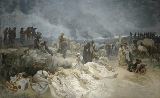 Alphonse Mucha, The Slav Epic No.12
