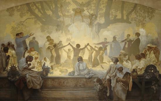 Alphonse Mucha, The Slav Epic No.18