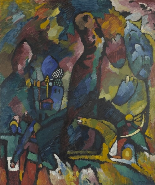 Wassily Kandinsky, Picture with an Archer, 1909