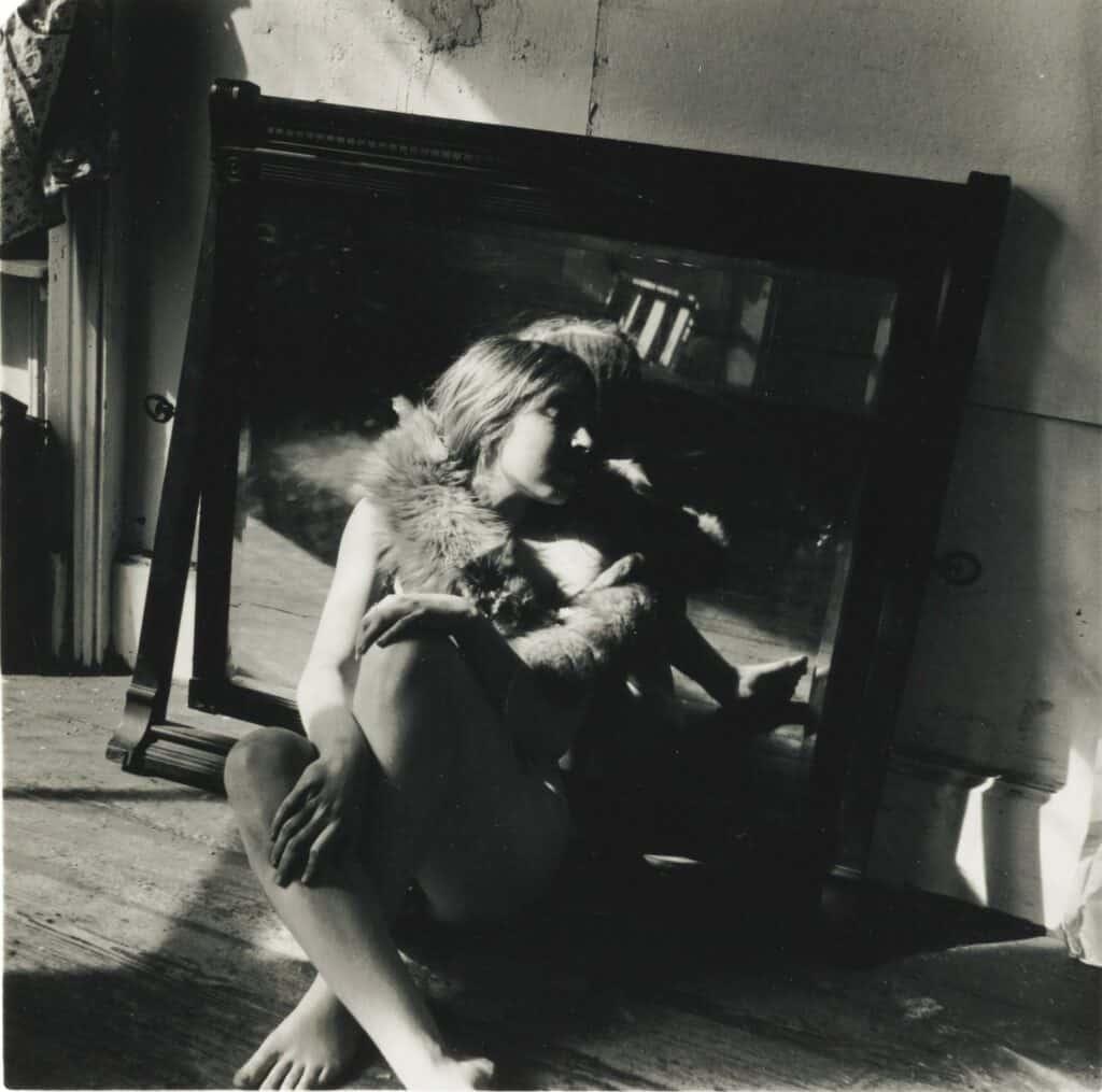 Francesca Woodman, Untitled, Providence, Rhode Island, 1975-76. Courtesy Sotheby's.