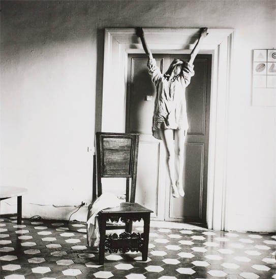 Francesca Woodman, Untitled, Rome, 1977-1978. Courtesy Phillips.