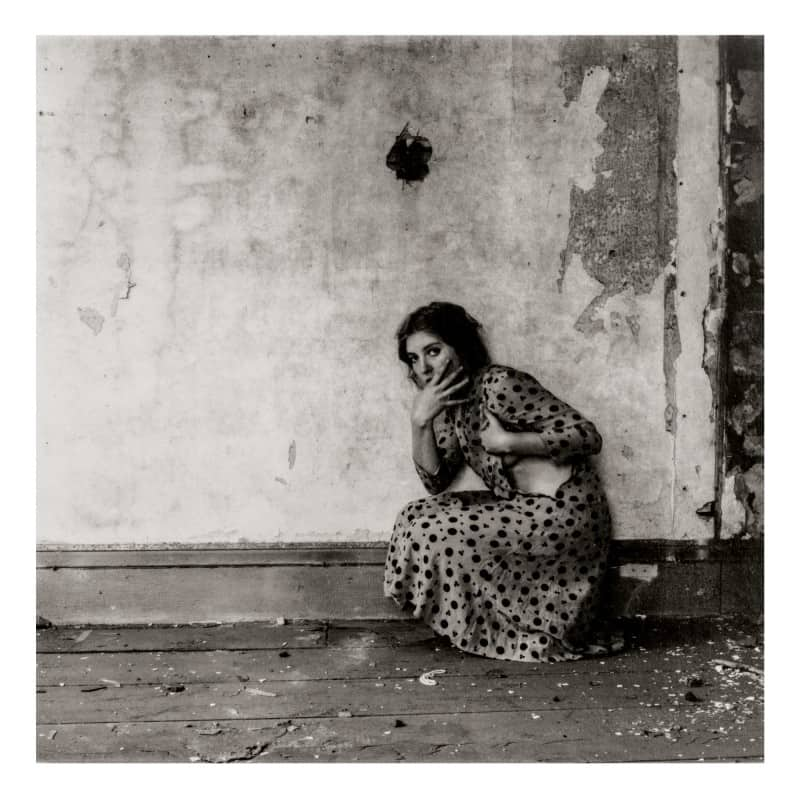Francesca Woodman, Untitled (Polka Dots), Providence, Rhode Island, 1975-76. Courtesy Sotheby's.